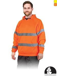 Odsevni pulover LH-Amsel s kapuco