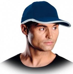 Kapa s šiltom STRAP modra