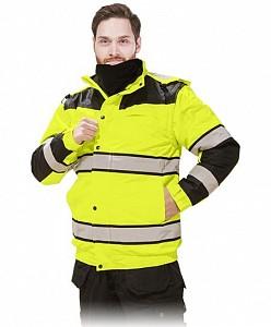 Odsevna zimska jakna s snemljivimi rokavi in kapuco Milling