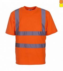Odsevna T-shirt majica Fluo