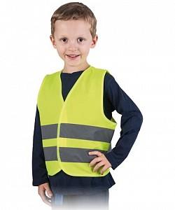 Odsevni telovnik za otroke