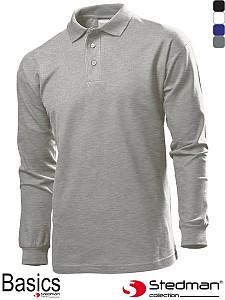 Polo majica dolgi rokav Stedman ST3400