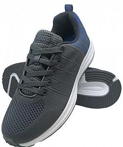 Športni čevlji Pixel sive/modre
