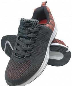 Športni čevlji Pixel sive/oranžne