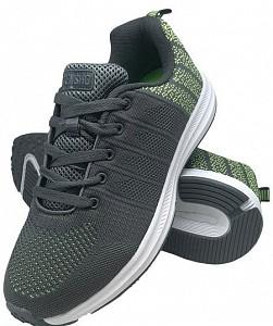 Športni čevlji Pixel sive/zelene