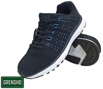 Športni čevlji Steam črne/modre barve