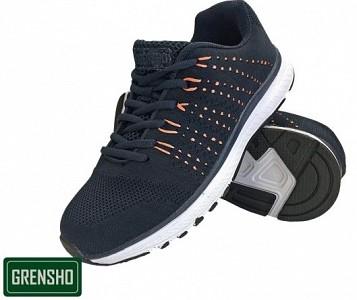 Športni čevlji Steam črne/oranžne barve