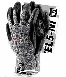 Protiurezne zaščitne rokavice CUT5 lateks