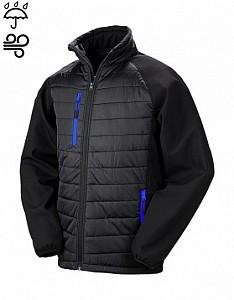 Softshell jakna Result Compas črna/modra