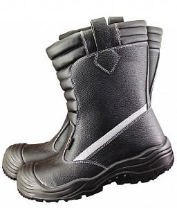 Visoki podloženi zaščitni čevlji BCU S3
