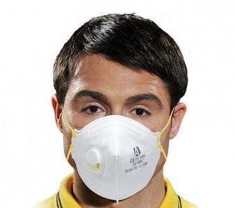 Zaščitna maska FFP3 z ventilom