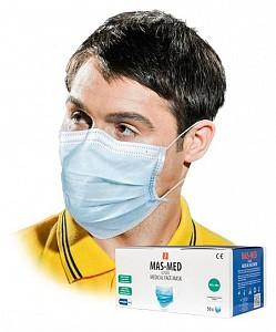 Zaščitna maska (3 slojna) tip IIR 50 kom