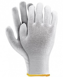 Zaščitne rokavice iz bombaža s PVC bunkicami CROLUX