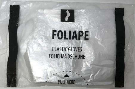Zaščitne rokavice iz polietilena RFOLIA 100/1