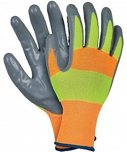 Zaščitne rokavice odsevne nitrilne Strada