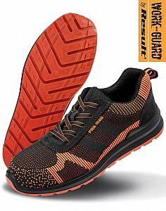 Zaščitni čevlji Hardy Safety Trainer Result črne/oranžne