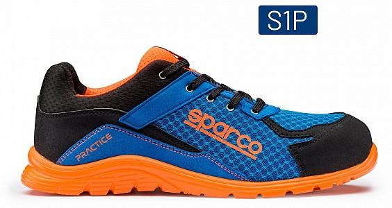 Zaščitni čevlji Practice Sparco S1P 07517AZAF