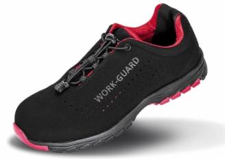 Zaščitni čevlji Safety Lightweight Result črne/rdeče