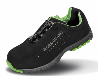 Zaščitni čevlji Safety Lightweight Result črne/zelene