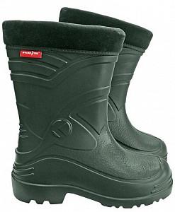 Zaščitni podloženi škornji Breva zelene, 42-48