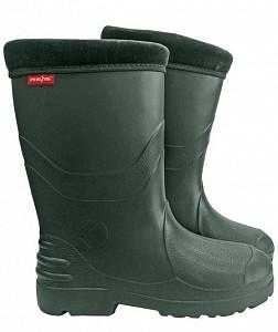 Zaščitni podloženi škornji Breva zelene, 36-42