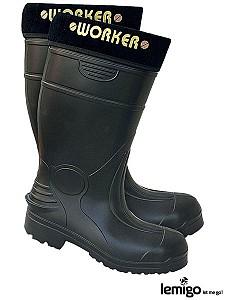 Zaščitni podloženi škornji Worker