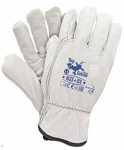 Zimske zaščitne rokavice usnje Ice