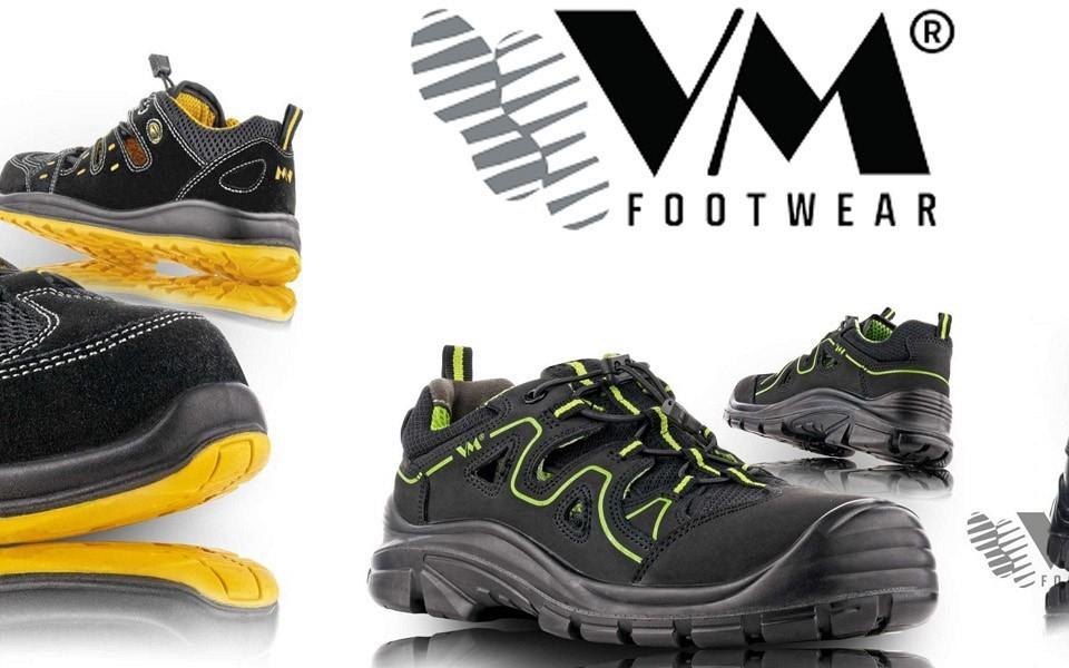 Novi delovni čevlji Sandali VM Footwear!
