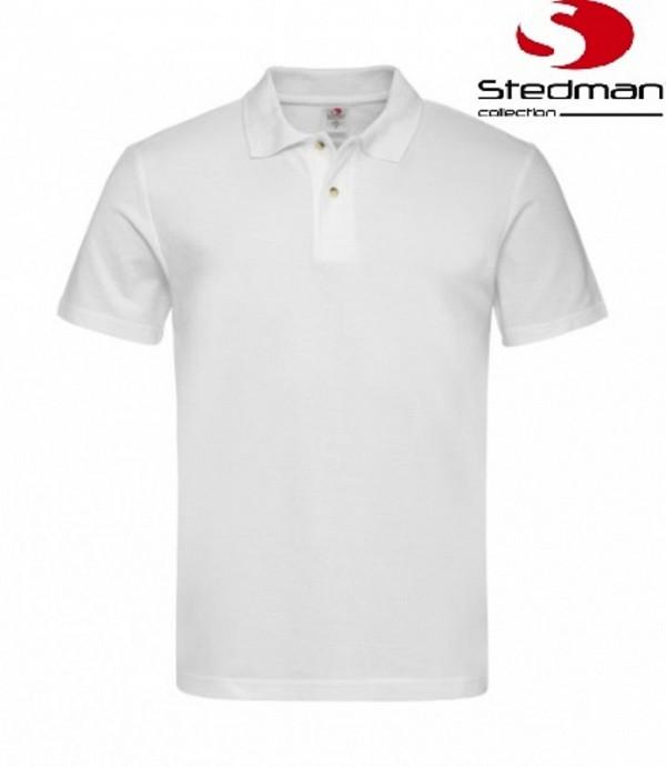 Bela polo majica Stedman