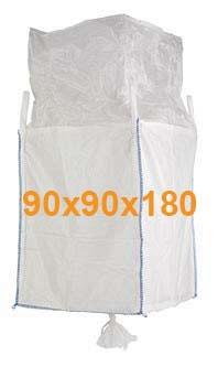 Big Bag Jumbo vreča polnilno krilo in krilo za spust 90x90x180 cm