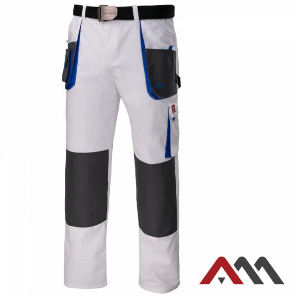 Delovne hlače na pas Classic white