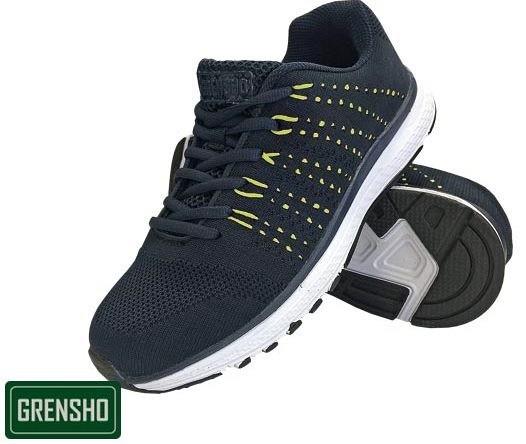 Športni čevlji Steam črne/zelene barve
