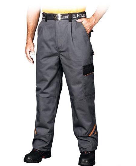 Delovne hlače na pas Promaster sive/oranžne/črne