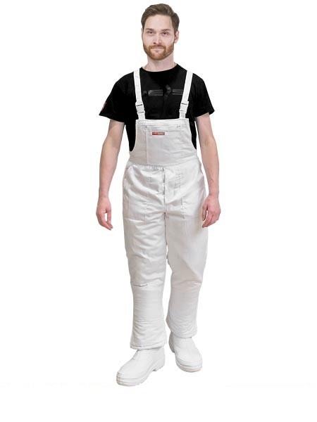 Zimske delovne Farmer hlače Master bele