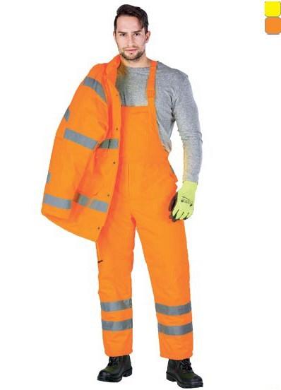 Delovne zimske odsevne farmer hlače Vis