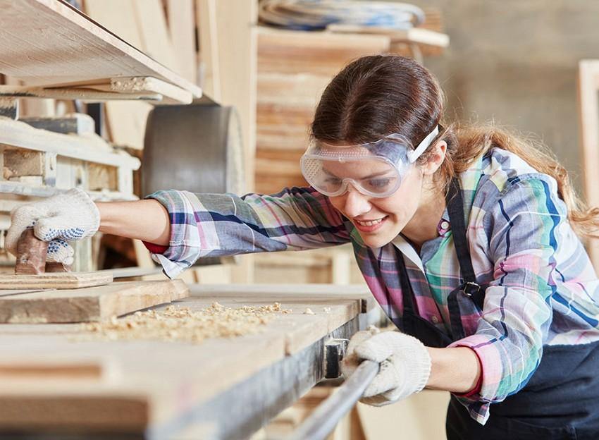 Lesna industrija, žagarstvo, mizarstvo, krovstvo